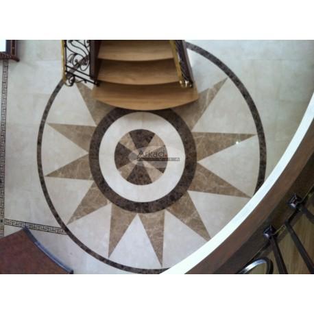 Laiptų ir grindų dekoracijos iš natūralaus akmens